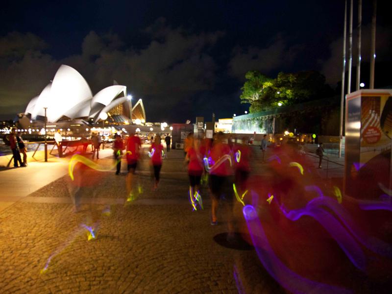 Nike event running glow sticks 3