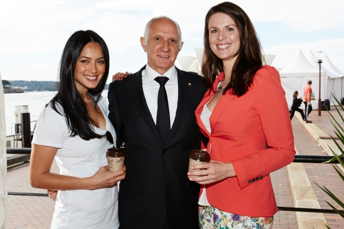 Bianca Cheah (Sporteluxe), Les Schirato (CEO, Vittoria Coffee) ,Renee Leonard-Stainton (Renee Naturally, Naturopath)