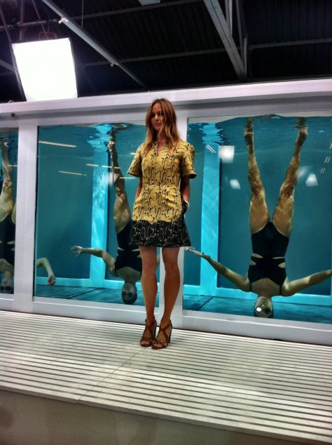 adidas by Stella McCartney SS14 synchronized swimming
