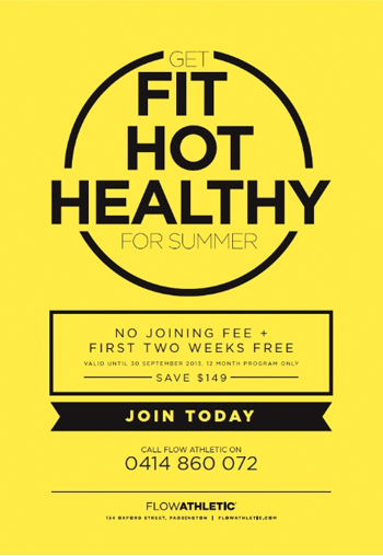 FLOW FIT HOT HEALTHY
