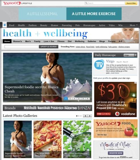media - Yahoo 7 lifestyle